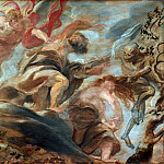 Peter Paul Rubens - Expulsion from the Garden of Eden -- 1620