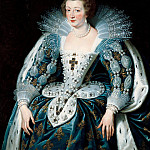 Peter Paul Rubens - Anna of Austria, queen of France, mother of king Louis XIV. - 1622- 125