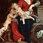 Peter Paul Rubens - The Holy Family with the Basket - 1616