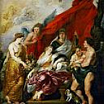 Birth of Louis XIII, Peter Paul Rubens