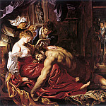 Samson and Delilah, Peter Paul Rubens
