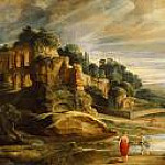 Peter Paul Rubens - Landscape with the Ruins of Mount Palatine in Rome