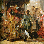 Peter Paul Rubens - Generosity of Scipio - ок 1616 - 1618