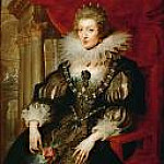 Portrait of Anne of Austria, Peter Paul Rubens