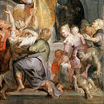 Miracles of St Ignatius - ок 1615 -1620, Peter Paul Rubens