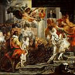 Coronation of Marie de Medici, Peter Paul Rubens