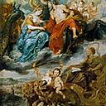 Meeting of Henry IV and Maria de Medici at Lyon, Peter Paul Rubens