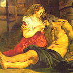 Roman Charity - 1612, Peter Paul Rubens