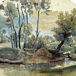 Landscape with a dam, Peter Paul Rubens