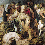 Drunken Silenus, Peter Paul Rubens