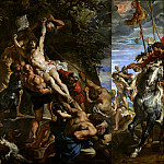 Raising of the Cross – 1610, Peter Paul Rubens