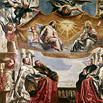 Peter Paul Rubens - Rubens The Trinity Adored By The Duke Of Mantua And His Family