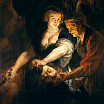 Judith with the Head of Holofernes – 1616, Peter Paul Rubens