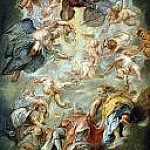 The Apotheosis of James I, Peter Paul Rubens