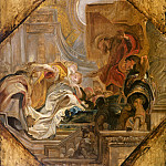Esther before Ahasuerus -- , Peter Paul Rubens