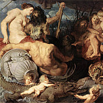 The Four Continents - 1620, Peter Paul Rubens