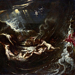 Hero And Leander, Peter Paul Rubens