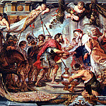 Peter Paul Rubens - The Meeting of Abraham and Melchizedek - 1625