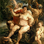 Peter Paul Rubens - Bacchus - Вакх - 1638 - 1640