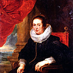 Portrait Of A Woman, Probably His Wife, Peter Paul Rubens