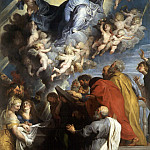 Assumption of the Virgin, Peter Paul Rubens
