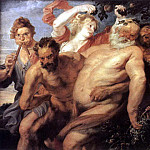 Drunk strong - c. 1620, Peter Paul Rubens