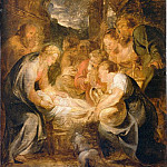 Adoration of the Shepherds – 1615 – 1616, Peter Paul Rubens