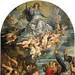 Assumption of Virgin – 1620, Peter Paul Rubens