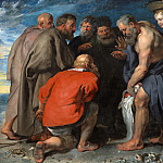 Saint Peter Finding the Tribute Money, Peter Paul Rubens