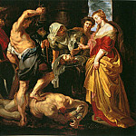 Beheading of St John the Baptist - 1609 - 1610, Peter Paul Rubens