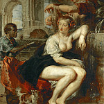 Bathsheba at the Fountain - Вирсавия у фонтана - 1635, Peter Paul Rubens