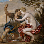 Peter Paul Rubens - Mars, Venus and Cupid [Manner of]