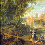 Peter Paul Rubens - Castle Garden - около 1630 - 1635