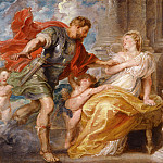 Rubens Mars and Rhea Silvia, Peter Paul Rubens