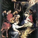 Adoration of the Shepherds, Peter Paul Rubens