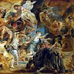 Peter Paul Rubens - The death of Henry IV and the regency ad