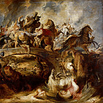 Battle of the Amazons, Peter Paul Rubens