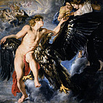 Peter Paul Rubens - The Abduction of Ganymede - 1611 - 1612