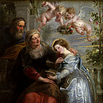 Peter Paul Rubens - The Education of the Virgin - 1625 - 1626