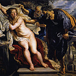 Susanna and the Elders - 1609 -1610, Peter Paul Rubens