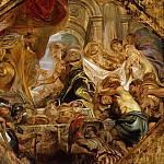 Peter Paul Rubens - King Solomon and the Queen of Sheba - 1620
