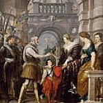 Peter Paul Rubens - Confers Governing of the Kingdom