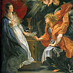 Annunciation - 1609, Peter Paul Rubens
