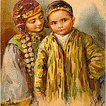 Elizabeth Merkuryevna Boehm (Endaurova) - Ethnic groups in Russia. Tatars. I love the young man and a Tartar!