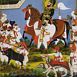 Chokha – Maharana Bhim Singh Returning from Hunting Boar, Metropolitan Museum: part 2
