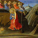 Attributed to Zanobi Strozzi – The Nativity, Metropolitan Museum: part 2