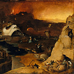 Metropolitan Museum: part 2 - Style of Hieronymus Bosch - Christ's Descent into Hell