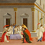 Botticelli – Three Miracles of Saint Zenobius, Metropolitan Museum: part 2