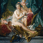 François Boucher – The Toilette of Venus, Metropolitan Museum: part 2