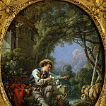 Metropolitan Museum: part 2 - François Boucher - The Dispatch of the Messenger